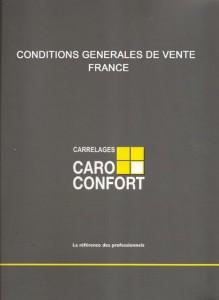 Télécharger les conditions générales de vente France