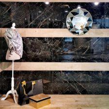 Showroom Battice - Décor en bois