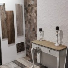 Showroom à Arlon - Bois